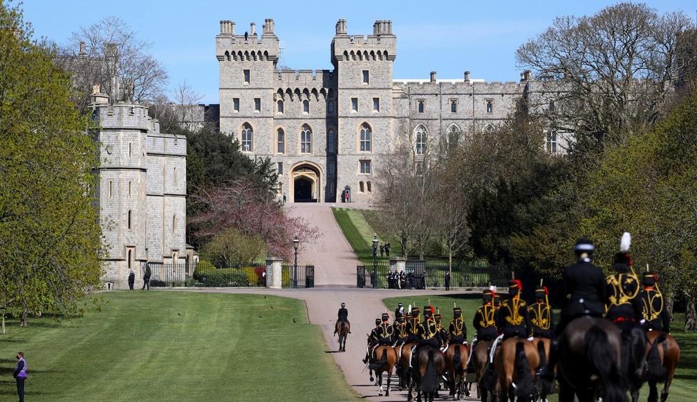 Funeral do Príncipe Philip, marido da Rainha Elizabeth II foi realizado em Windsor