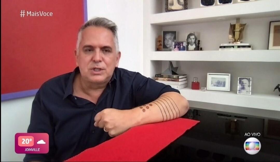 Orlando Morais se emociona ao falar da luta contra a Covid-19