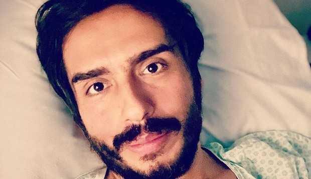 Caike Luna, humorista de Zorra Total, inicia tratamento contra linfoma