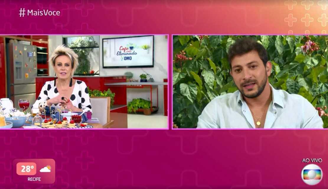 Caio em conversa no 'Mais Você' fala sobre sua amizade com Rodolffo e família