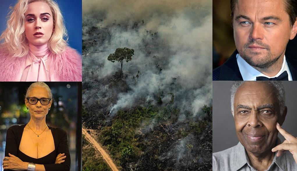Gilberto Gil, Katy Perry e DiCaprio pedem para presidente dos EUA negar acordo ambiental com Brasil