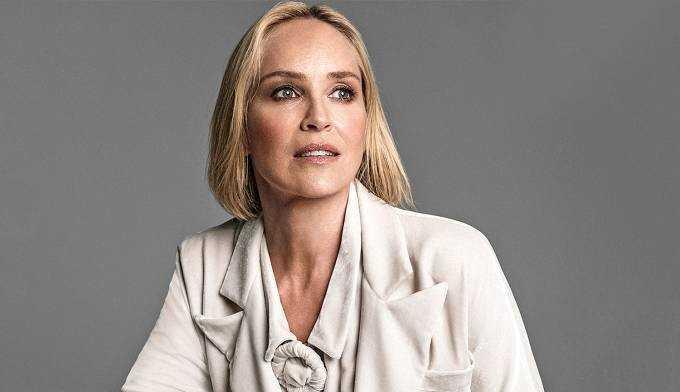 Sharon Stone fala sobre hemorragia vascular cerebral: 'Literalmente empurrou meu cérebro para a frente do meu rosto'