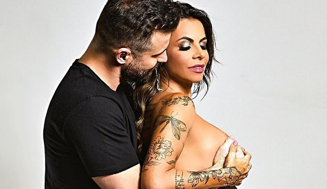 Nasce Benício, filho do Sertanejo Marlon com a namorada Maria Clara