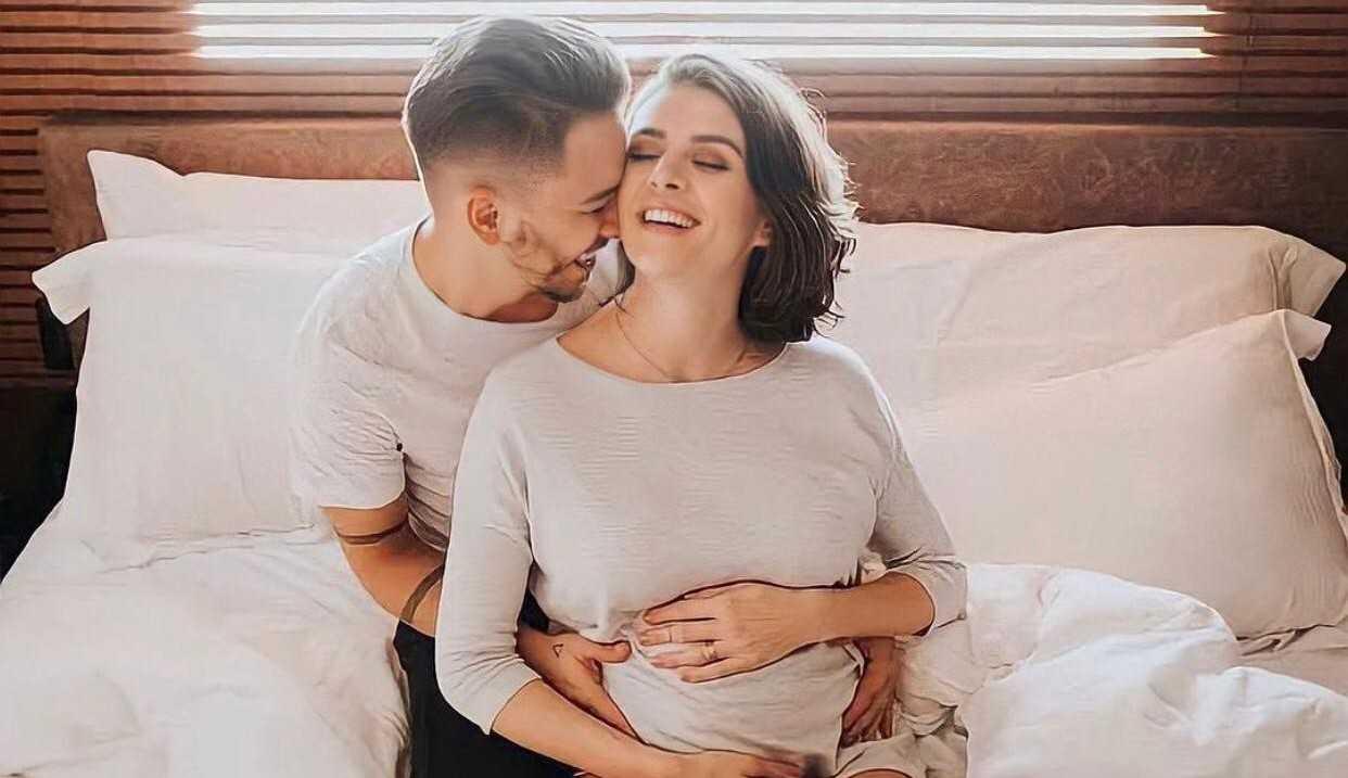 Junior Lima e Monica Benini relevam sexo do segundo filho