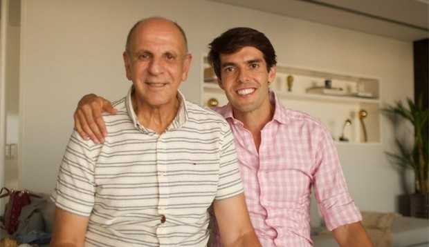 Izecson Pereira, pai de Kaká, recebe alta após 40 dias internado com Covid-19