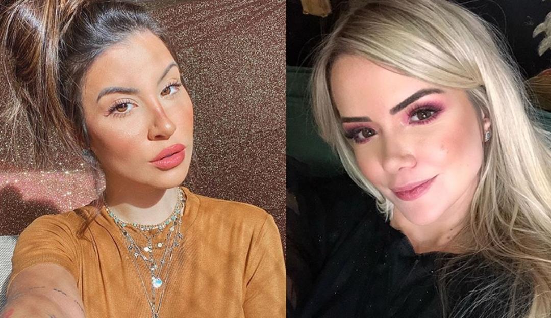 Ex-BBBs Marcela McGowan e Boca Rosa fazem tatuagens juntas: 'Desespero'