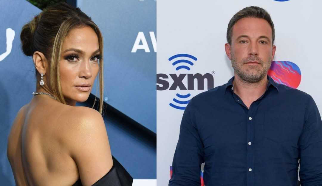 Ben Affleck e Jennifer Lopez são vistos juntos na mansão da cantora