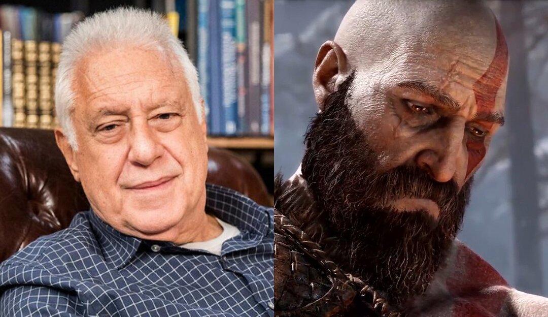 Antônio Fagundes revela vício em God of War