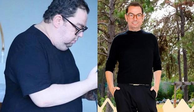 Junior Mendes, maquiador das celebridades, surpreende ao mostrar antes e depois da bariátrica