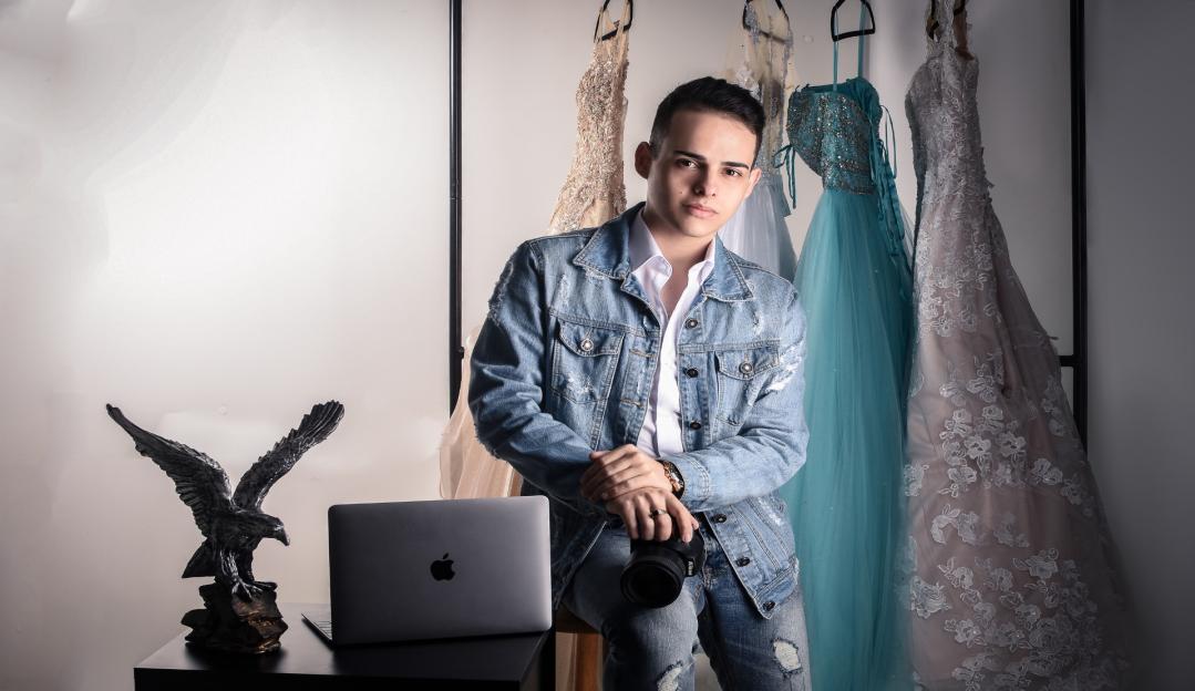 Igor Azevedo é o fotógrafo preferido das debutantes e traz inovações neste segmento