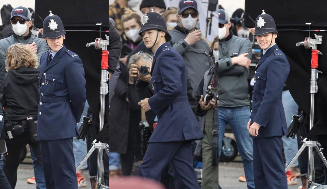 """São divulgadas fotos de Harry Styles nas gravações de """"My Policeman"""""""