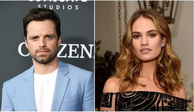Primeiras imagens de Sebastian Stan e Lily James na série Pam and Tommy são liberadas
