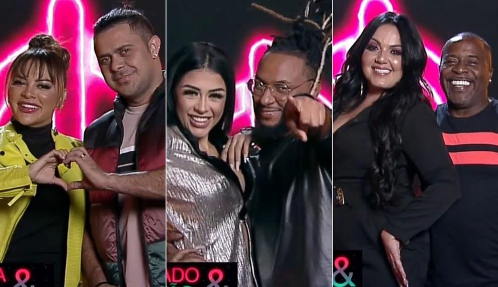 Power Couple Brasil 5: Márcia Fellipe, Medrado e Pimpolho estão na D.R do reality
