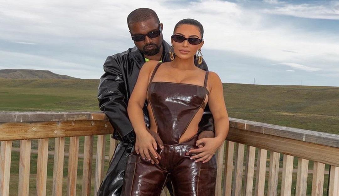 Kim Kardashian sofre com estado mental de Kanye West