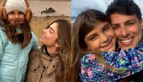 Grazi Massafera e Cauã Reymond celebram o aniversário da filha