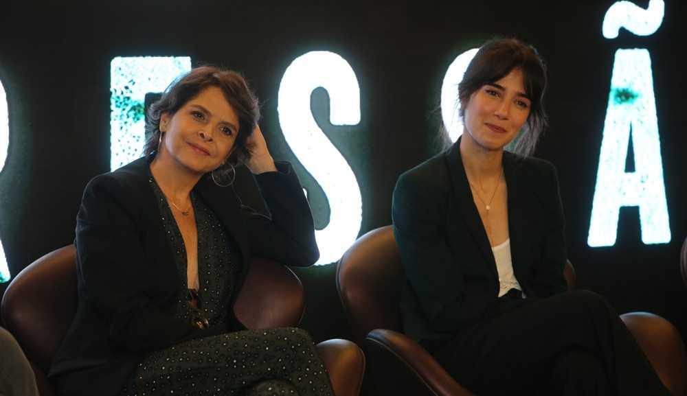Drica Moraes e Marjorie Estiano gravam cenas da nova temporada de 'Sob pressão'