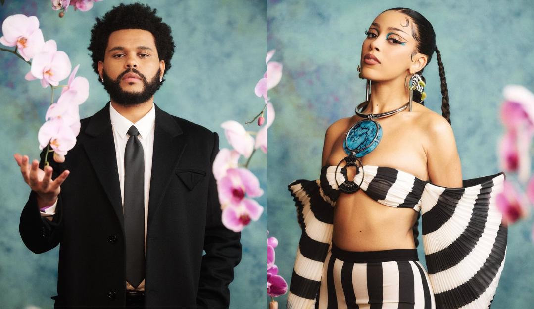 Doja Cat confirma colaboração com The Weeknd