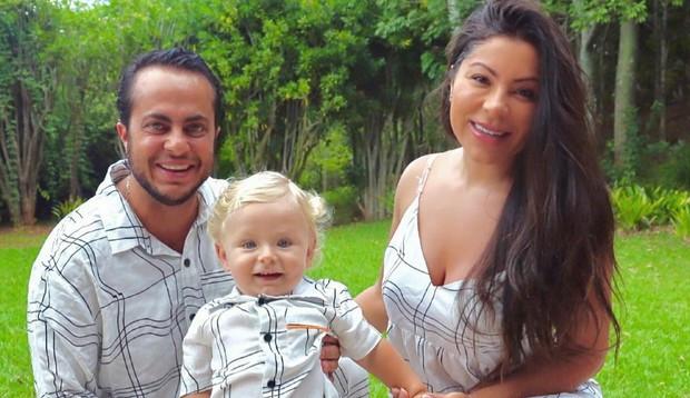 Andressa Ferreira revela planos para ter outro filho com Thammy: 'Temos embriões congelados'