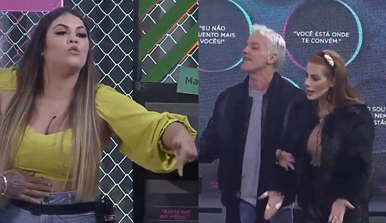 Mari se irrita com Deborah no Power Couple Brasil e dispara: 'Falsa'