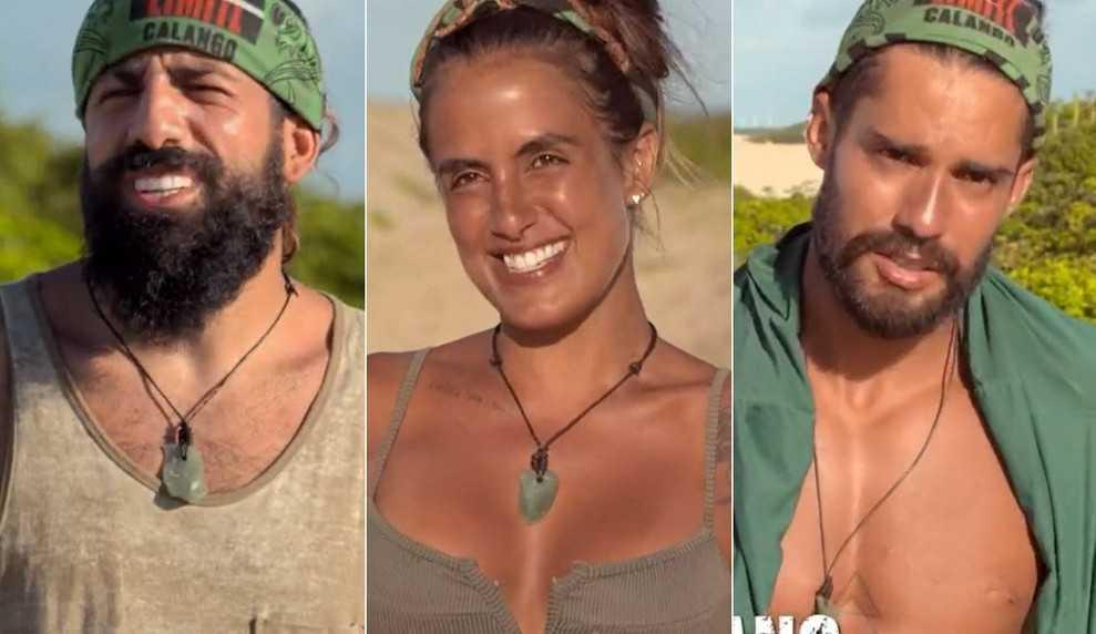 No Limite: Carol Peixinho revela que já conhecia Bil e Kaysar vê futuro na borra de café