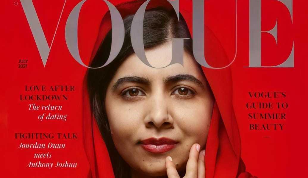 Malala Yousafzai é capa da edição de julho da Vogue