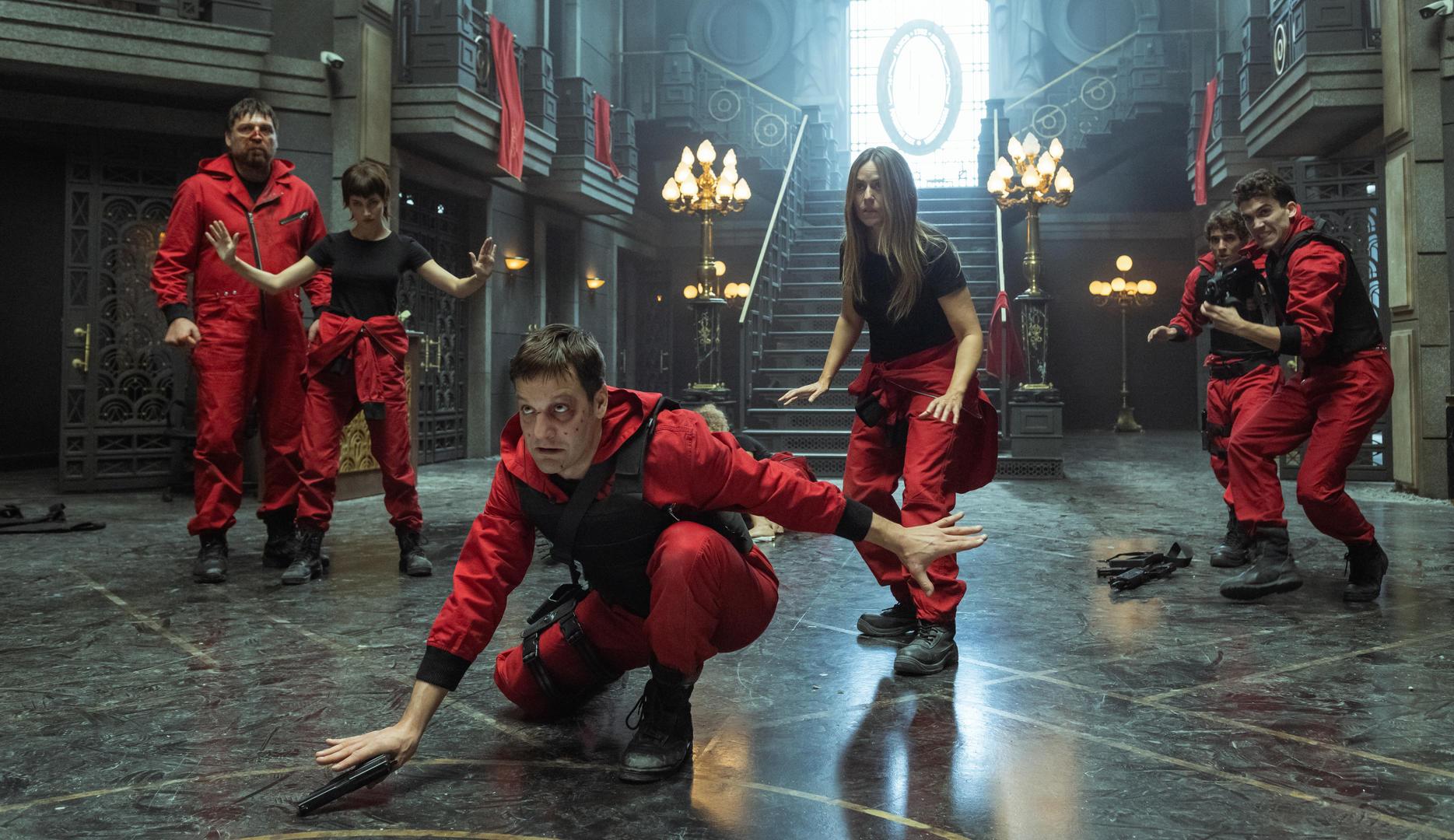 Netflix libera as primeiras imagens da quinta temporada de 'La Casa de Papel'