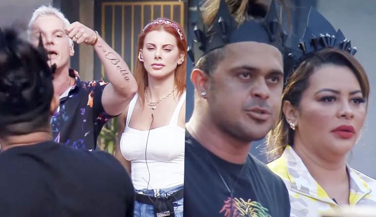 Power Couple: Deborah e Bruno protagonizam mais um barraco com Márcia após reclamar de sujeira na casa