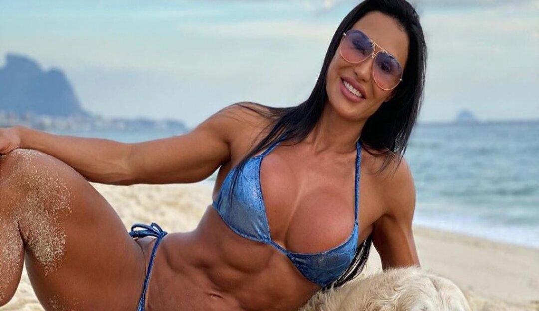 Gracyanne Barbosa conta que seguidores são motivação para manter dieta