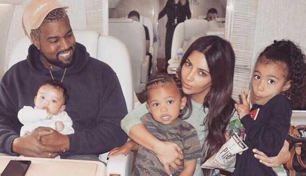 'Te amo para a vida' escreve Kim Kardashian parabenizando Kanye West