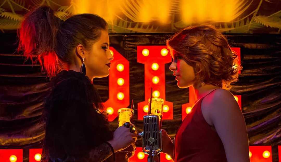 Agatha Moreira e Isabella Santoni vivem romance no filme 'Missão Cupido'