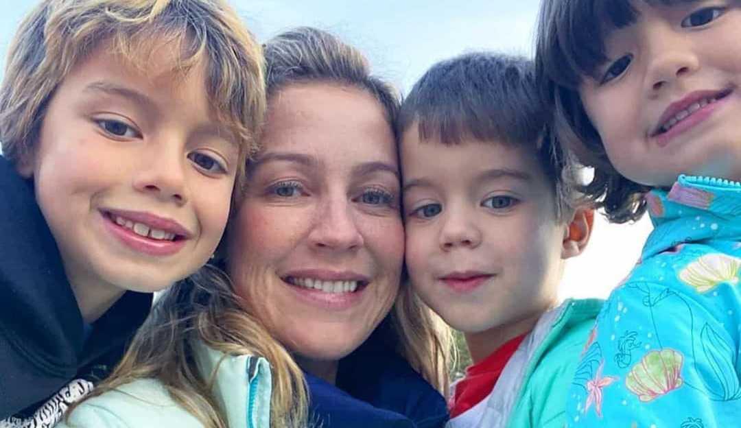 Luana Piovani está com Covid-19 e se isola dos filhos