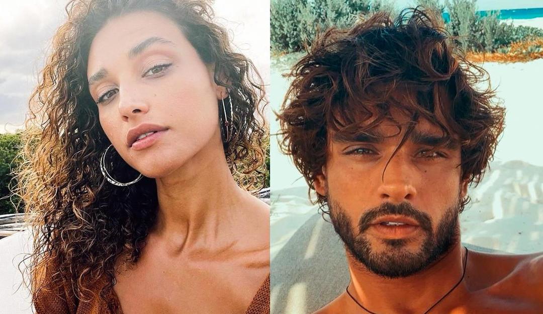 Débora Nascimento publica foto assumindo namoro com Marlon Teixeira