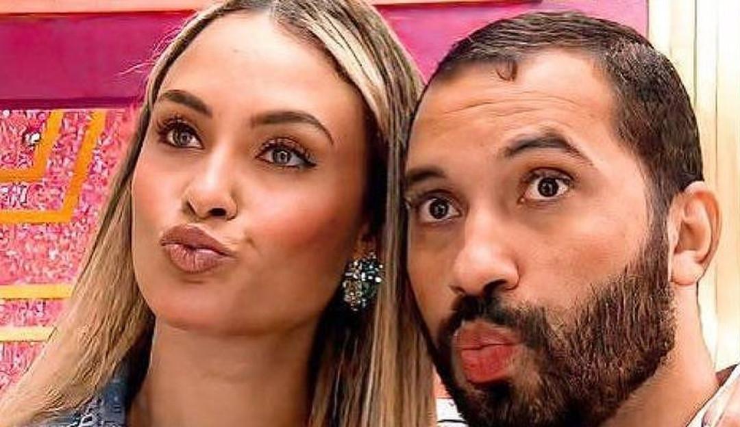 Sarah e Gil se encontram no Dia dos Namorados e a ex-sister brinca: 'Assumimos esse relacionamento