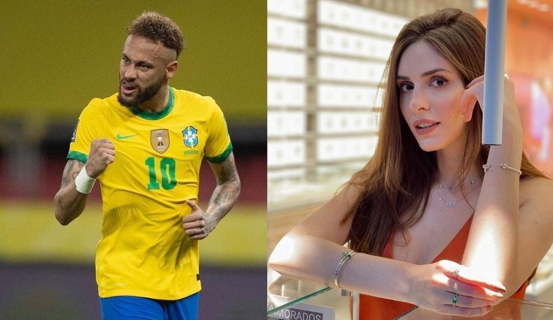 Neymar posta foto com mulher no Dia dos namorados e fãs especulam