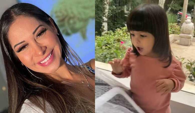 Mayra Cardi presenteia a filha com miniaturas de carros de 4 mil reais