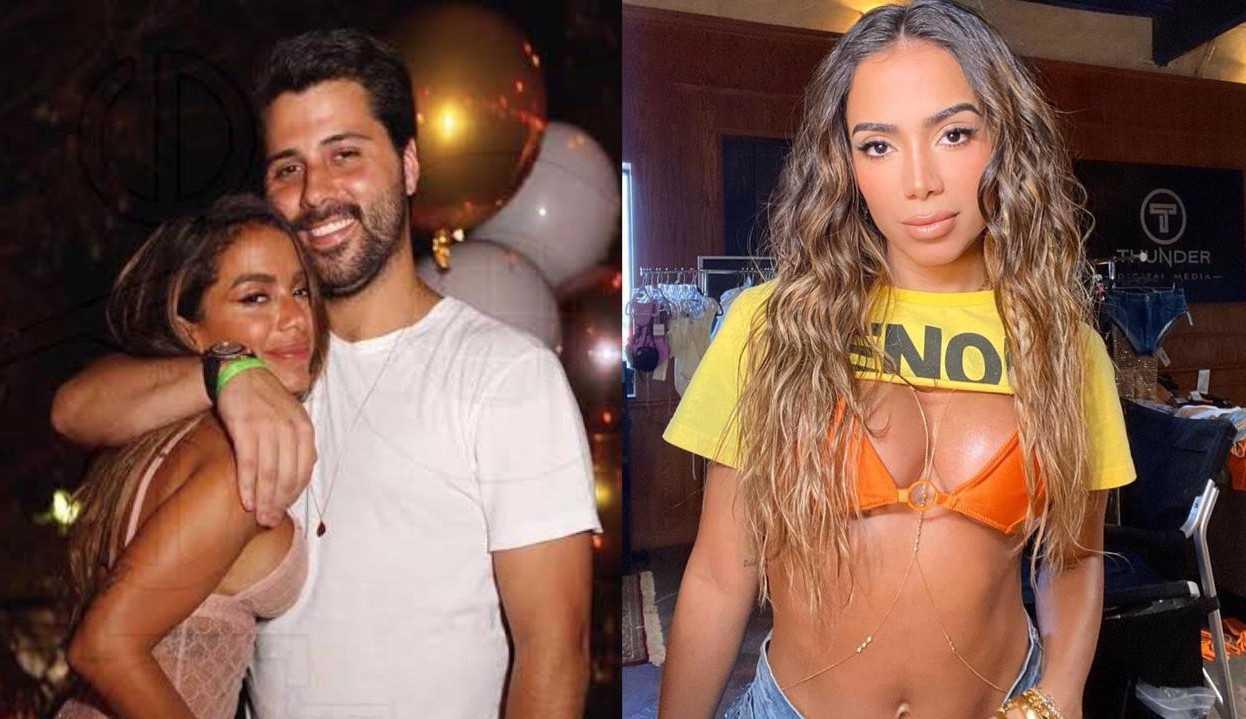 """Anitta sobre como conheceu namorado, Michel Chetrit: """"Foi um encontro normal"""""""