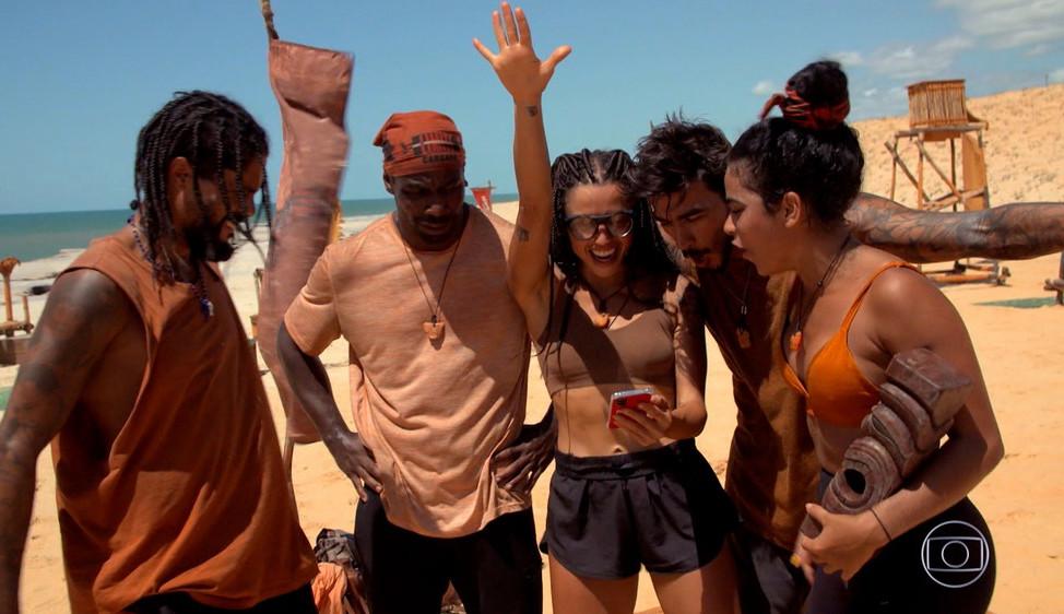 No Limite: No sétimo episódio Tribo Carcará vence novamente a Prova da Imunidade