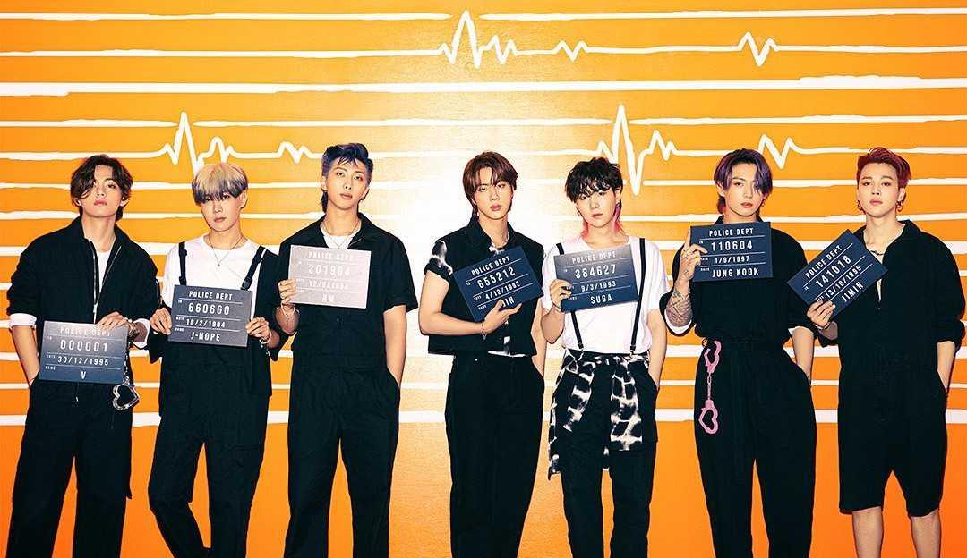 'Butter' do BTS lidera a Billboard Hot 100 pela quinta semana consecutiva