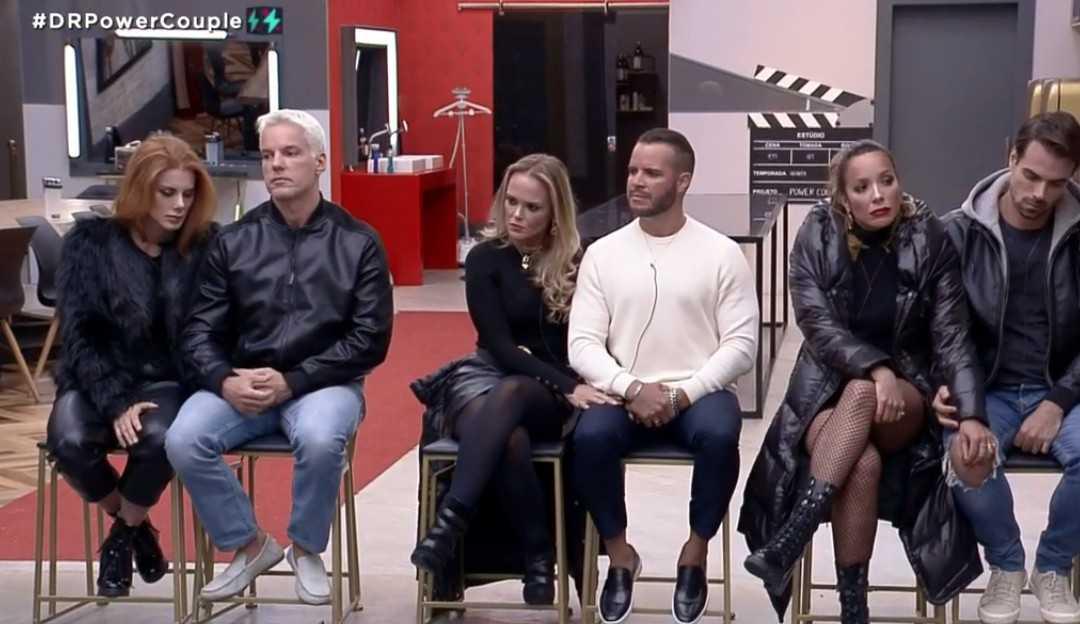 Power Couple: Deborah, Bruno, Renata, Leandro, Nina e Filipe formam a D.R da semana