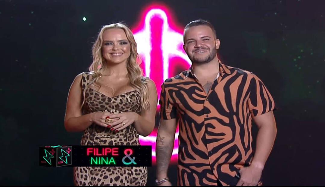 Power Couple: Nina e Filipe são o casal eliminado da semana