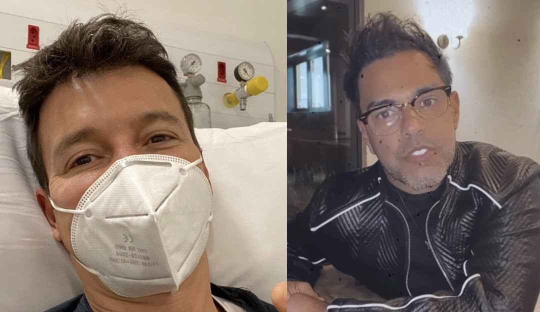 Zezé Di Camargo volta a alfinetar Rodrigo Faro e avisa: 'Se você insistir, vou mostrar'