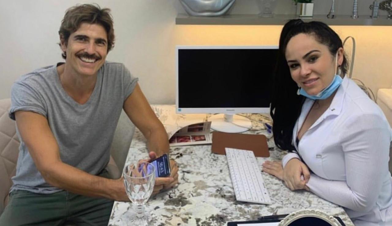 Responsável por rejuvenescimento facial de Gianecchini, Dra. Natasha Ramos diz que ator gosta do rosto natural