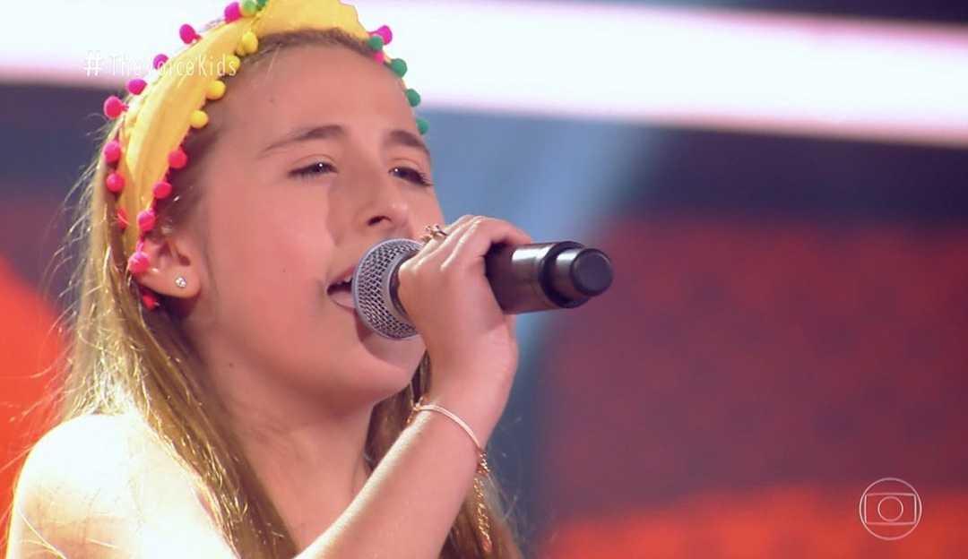 Destaque no The Voice Kids, Sophia Marie volta a se apresentar