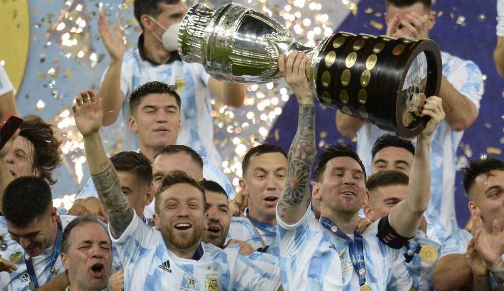 Argentina vence Brasil no Maracanã e conquista Copa América