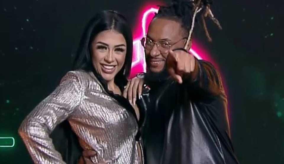 """Depois de participarem do 'Power Couple', Medrado e Claytão se separam e a rapper afirma: """"Me xingou"""""""