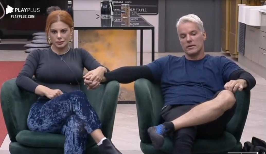 """Power Couple: Após ser alvo de Li no jogo da discórdia, Deborah dispara: """"Me segurando para não falar"""""""