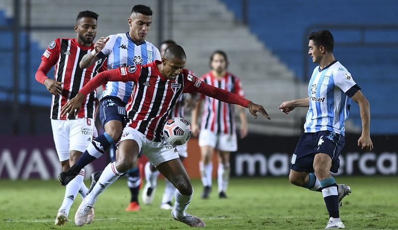 São Paulo recebe o Racing pelas oitavas de final da Libertadores