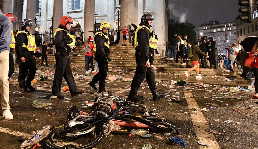 Prisões, caos, morte e racismo: como Itália e Inglaterra reagiram ao resultado da final da Eurocopa