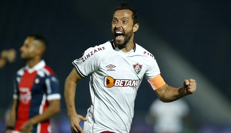 Nenê é o jogador mais velho a marcar em mata-mata da Libertadores