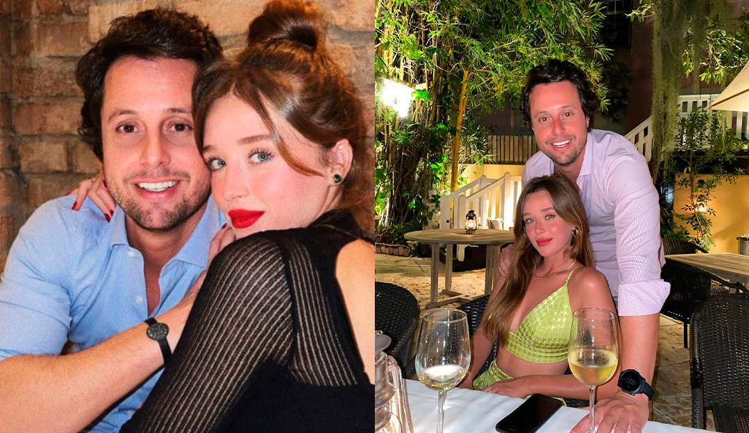 Em post raro, Duda Reis posta foto com namorado Bruno Rudge